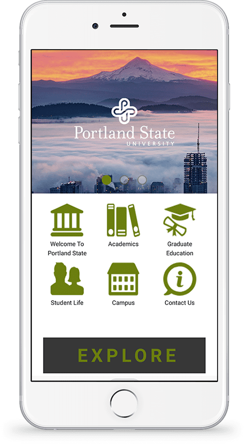 Portland State University's Progressive Web Application