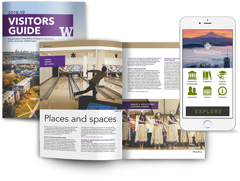 Visitor Guide Magazine and Progressive Web App